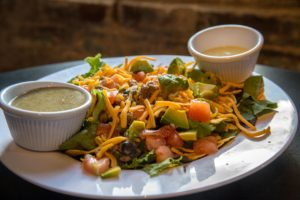 Turkey Santa Fe Taco salad